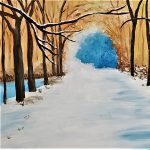 Paint and Vino: Winter Walk