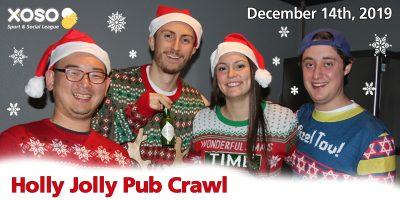 Holly Jolly Pub Crawl
