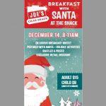 Breakfast with Santa at Joe's Crab Shack