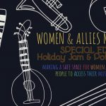 Women and Allies Music Night and Xmas Jam