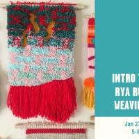 Intro to Rya Rug Weaving