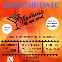 Soroptimist Elk Grove Martinis and Merriment (Cancelled)