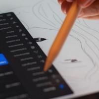 Anime Design on iPad