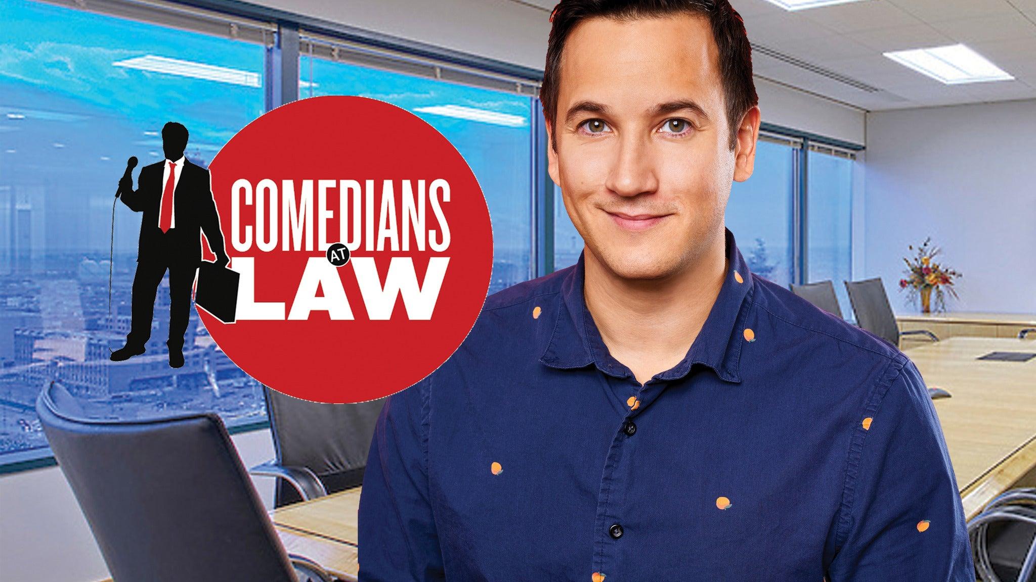 Matt Ritter presents The Comedians at Law