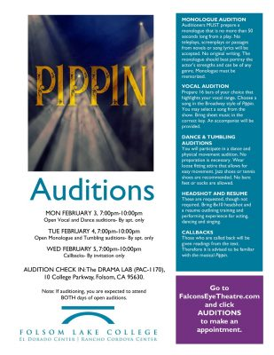 Auditions for Pippin