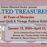 Quilt and Vintage Fashion Exhibit