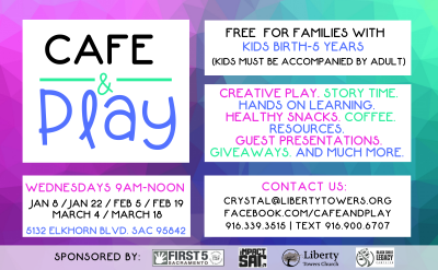 Cafe and Play (Postponed)