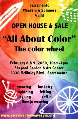 Sacramento Weavers and Spinners Guild Open House