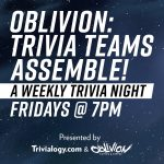 Trivia Teams Assemble (Cancelled)
