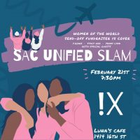 Sac Unified Poetry Slam: Women of the World Send-off Show