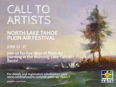 Call for Artists: North Lake Tahoe Plein Air Festi...