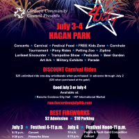 Rancho Cordova Fourth of July Celebration (Cancelled)