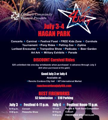 Rancho Cordova Fourth of July Celebration