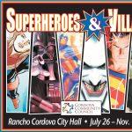 Superhero and Villains Art Exhibit