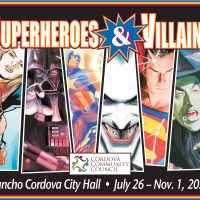 Superhero and Villains Art Exhibit