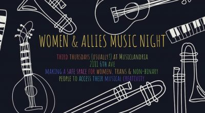 Women and Allies Music Night