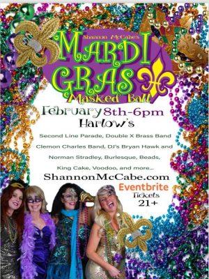 5th Annual Mardi Gras Masked Ball