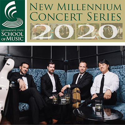 Sacramento State New Millennium Concert Series: The Miro Quartet (Cancelled)