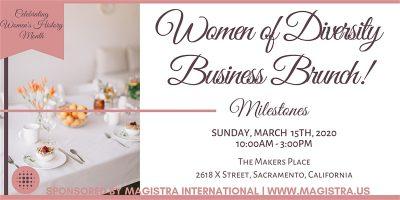 Women of Diversity Business Brunch