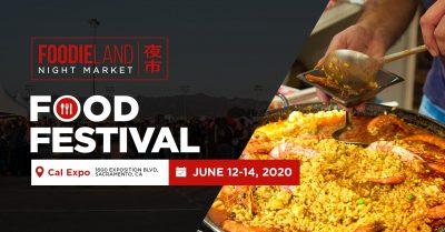 FoodieLand Night Market