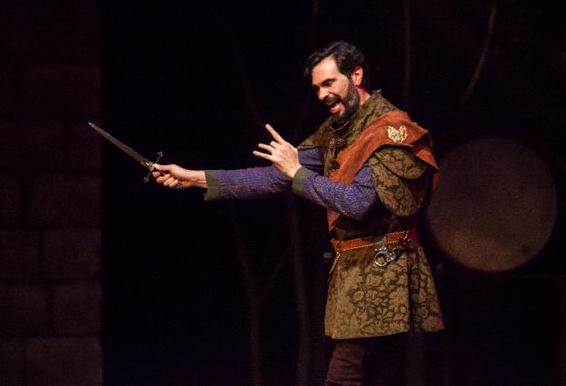 William Elsman in Macbeth, 2018