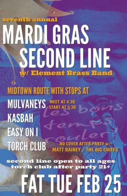 Mardi Gras Second Line
