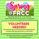 Spring at Fruit Ridge Community Collaborative