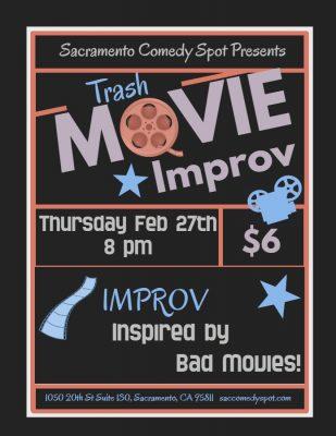 Trash Movie Improv: Thursday Scramble!