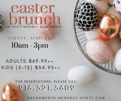Easter Brunch at the Hyatt (Cancelled)
