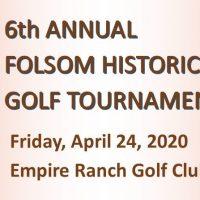 Folsom Historical Society Golf Tournament