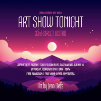 2nd Saturday Art Show with Jenn Delfs