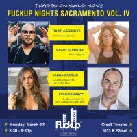 F-ckup Nights Sacramento Vol. IV