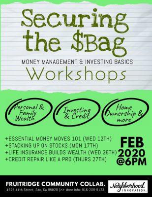 Securing the Bag Financial Workshop Series