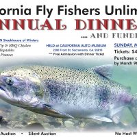 California Fly Fishers Fundraiser