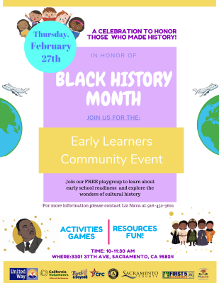 Early Learners Community Event