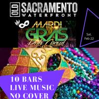 Mardi Gras Sacramento Pub Crawl