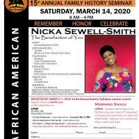 African-American Genealogy Seminar