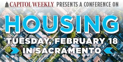 Capital Weekly presents A Conference on Housing