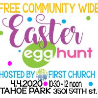 Easter Egg Hunt at Tahoe Park (Cancelled)