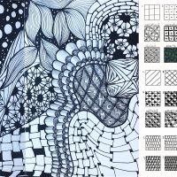Doodling Patterns with Nurelle Creations