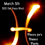 Pisces '70s Theme Party with Live Band (Cancelled)...