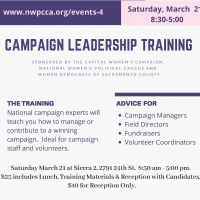 Campaign Leadership Training (Postponed)