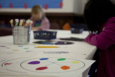 Crocker Art Camp: Squiggly Lines and Dashing Dots