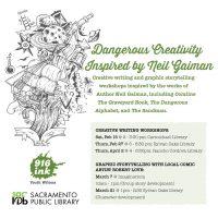 Neil Gaiman Creative Writing Workshop (Cancelled)