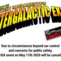 West Sacramento's Intergalactic Expo 2020 (Cancelled)