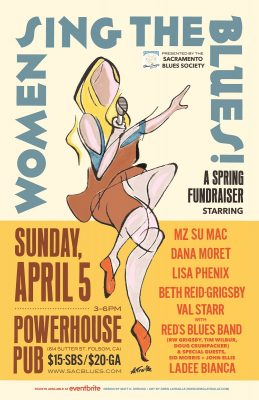 Women Sing the Blues Spring Fundraiser (Postponed)