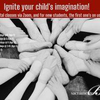 Sacramento Ballet Creative Movement 1 Virtual Classes