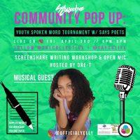 Community Pop-Up: SAYS Spoken Word Tournament (Online)