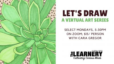 Let's Draw: A Virtual Art Series (Online)