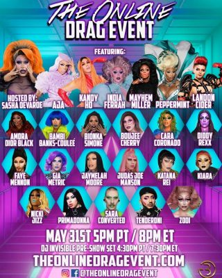 The Online Drag Event (Online)